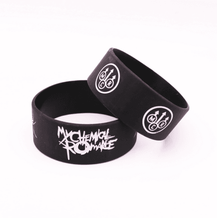 My Chemical Romance Silicone Rubber Wristband Bracelet Jewelry 1pcs for sale online | eBay