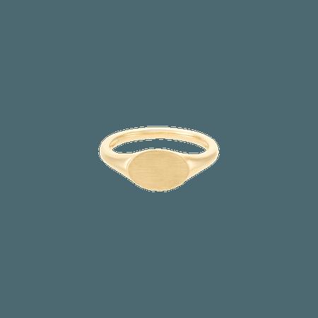 Mini Signet Ring | Mejuri