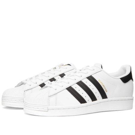 Adidas Superstar W White & Core Black | END.