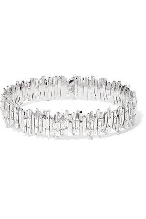 Suzanne Kalan   18-karat white gold diamond bracelet   NET-A-PORTER.COM