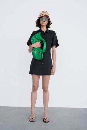 FLOWING MINI DRESS | ZARA South Korea