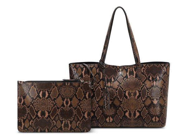 Sole Society Zeda Tote Women's Handbags & Accessories | DSW Brown