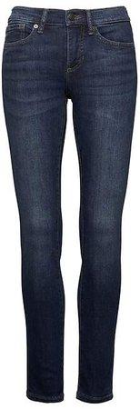 Slim-Straight Dark Wash Jean