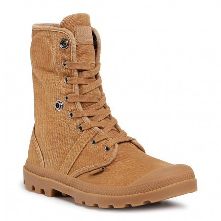 Hiking Boots PALLADIUM - Pallabrouse Baggy 02478-257-M Mahogany - Trekker boots - High boots and others - Men's shoes | efootwear.eu