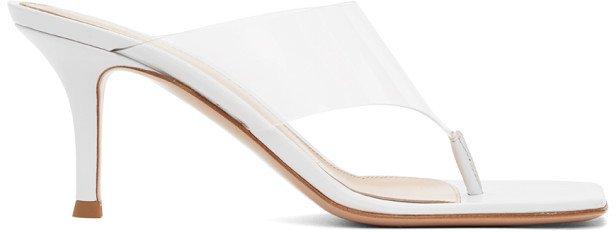 White Lotus 70 Heeled Sandals
