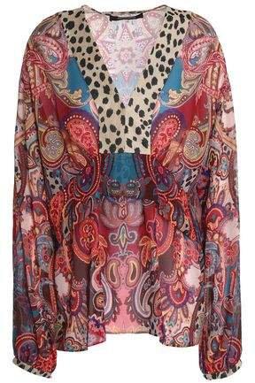 Printed Silk-georgette Blouse