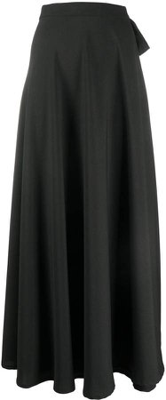 High-Waisted Maxi Skirt