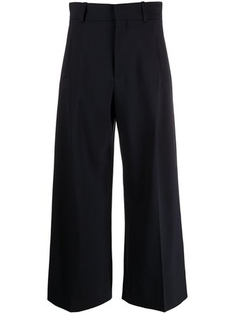 Shop blue Chloé wide-leg tailored trousers with Express Delivery - Farfetch