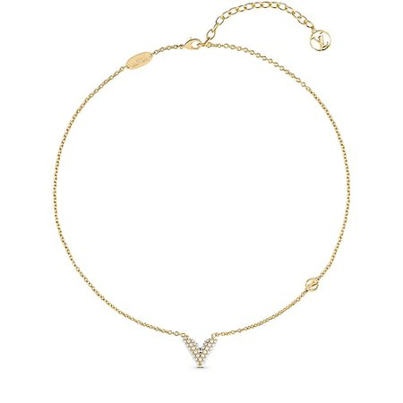 Essential V Pearl Necklace - Accessories | LOUIS VUITTON