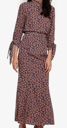 Zalia Blouse & Skirt