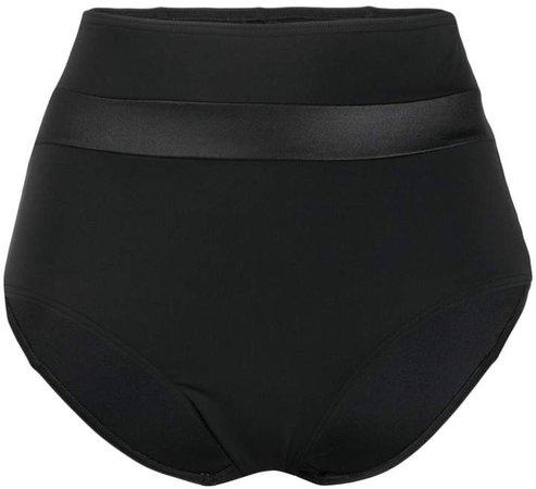 high-waisted bikini briefs