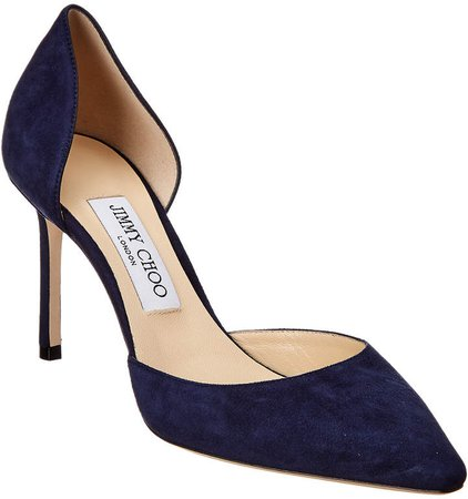 Esther 85 Suede D'orsay Pump