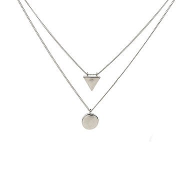 simple silver necklace - Pesquisa Google