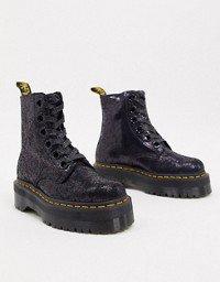 Dr Martens Jadon Max chunky flatform boots in black | ASOS