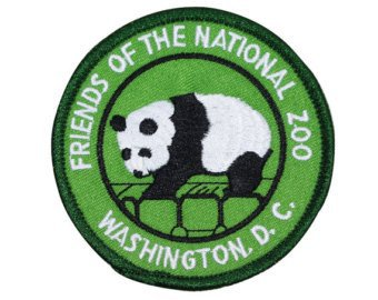 The National Zoo Washington DC Patch Panda Travel Embroidered | Etsy