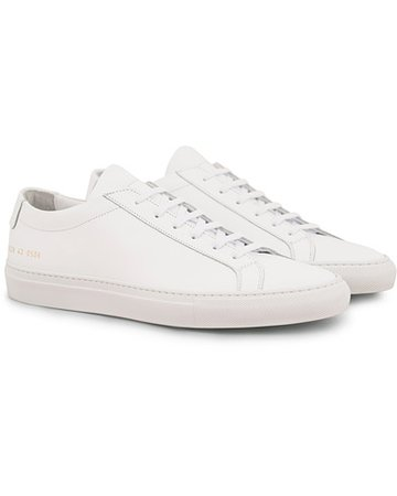 Common Projects Original Achilles Sneakers White Calf hos CareOfC