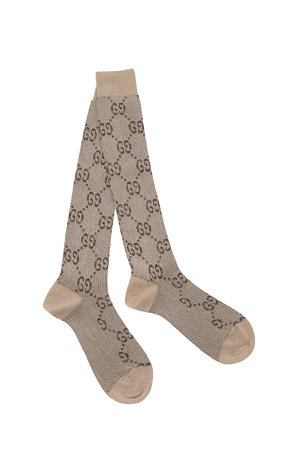 Gucci Gg Lurex Blend Socks