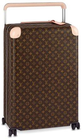 LOUIS VUITTON Brown Monogram Suitcase