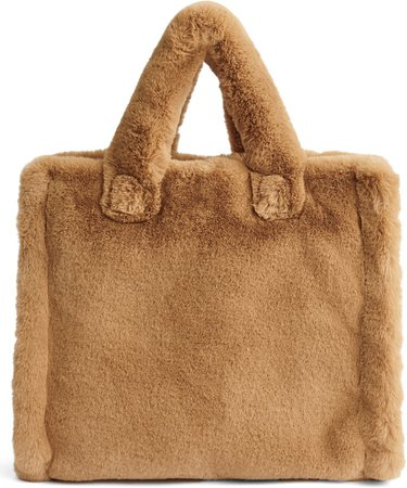 Medium Lolita Teddy Faux Fur Tote
