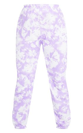 Petite Purple Tie Dye Joggers | Petite | PrettyLittleThing USA