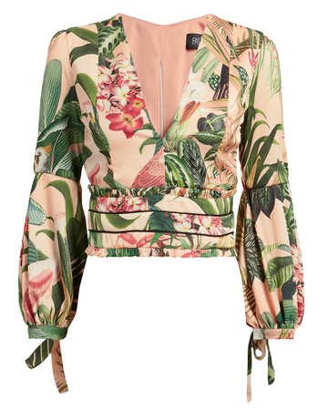 Paradise Printed Blouse