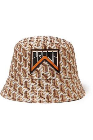 Prada   Appliquéd metallic jacquard bucket hat   NET-A-PORTER.COM