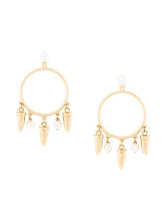 Eshvi Hula Hoops Earrings - Farfetch