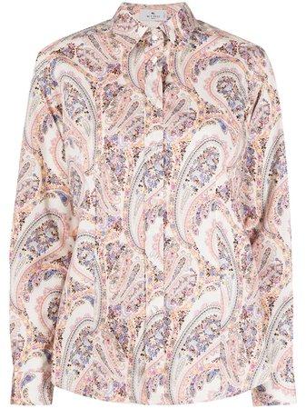 Etro Paisley Print Shirt - Farfetch