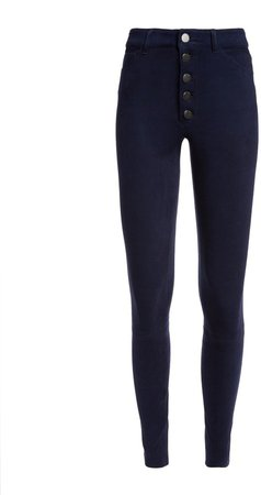 Mikah Suede High Rise Pant