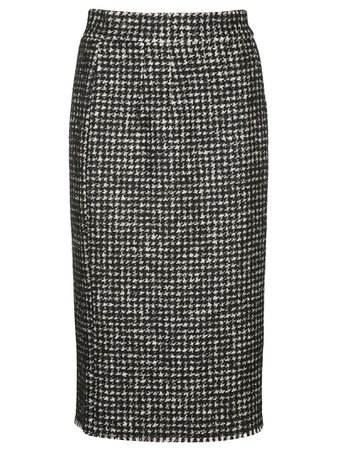 Dolce & Gabbana Tweed Pencil Skirt