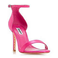 Shop more... Women Shoes & boots Dune Dune - Bright pink 'Maides' high stiletto heel ankle strap sandals