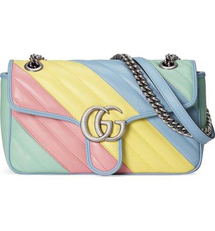 Gucci Small GG 2.0 Matelassé Leather Shoulder Bag | Nordstrom