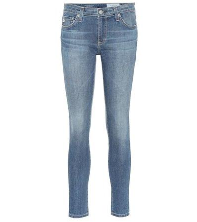 The Legging mid-rise skinny jeans