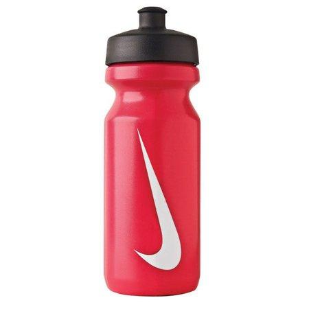 Nike Big Mouth Water Bottle - Sport Red / White