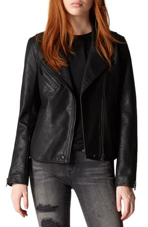 BLANKNYC Faux Leather Moto Jacket | Nordstrom