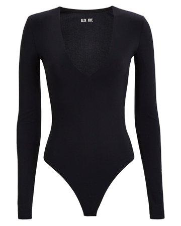 ALIX NYC | Irving V-Neck Bodysuit | INTERMIX®