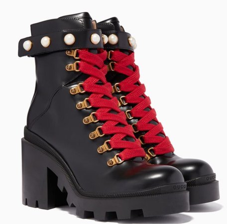 Gucci High Held Boots