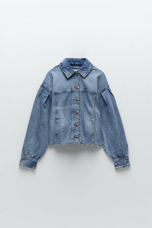 CROPPED DENIM JACKET | ZARA United States