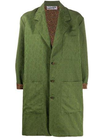 Jean Paul Gaultier Pre-Owned 1990s Mantel Im Cocoon-Stil - Farfetch