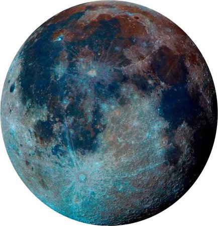moon colorized