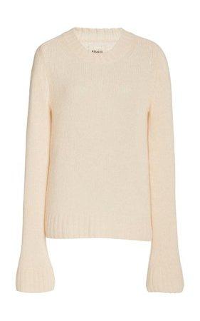 Mary Jane Cashmere Sweater By Khaite   Moda Operandi