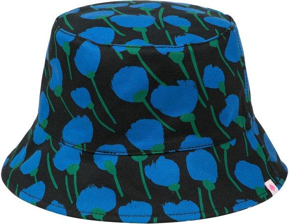 Seascape Flora Reversible Bucket Hat
