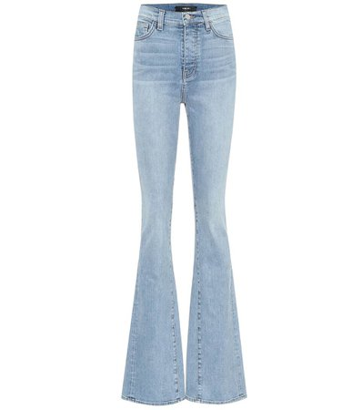 Amiri - Jeans flared a vita alta | Mytheresa