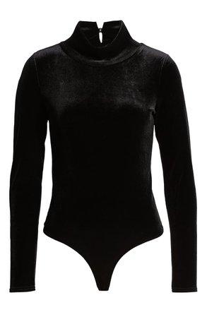 Articles of Society Velvet Bodysuit | Nordstrom