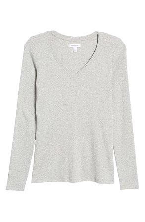 Nordstrom Everyday Long Sleeve V-Neck T-Shirt | Nordstrom