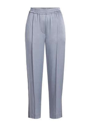 Cropped Satin Track Pants Gr. IT 42