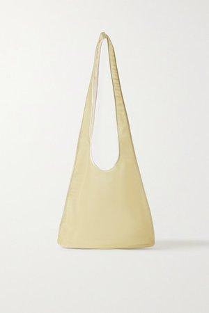 Bindle Mesh Shoulder Bag - Beige