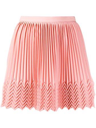 Marco De Vincenzo Pleated Mini Skirt - Farfetch