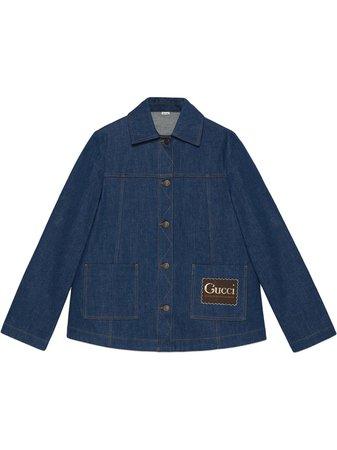 Gucci, Label denim jacket