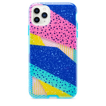Tech21 Playful Medley Case for iPhone 11 Pro Max - Blue - Apple